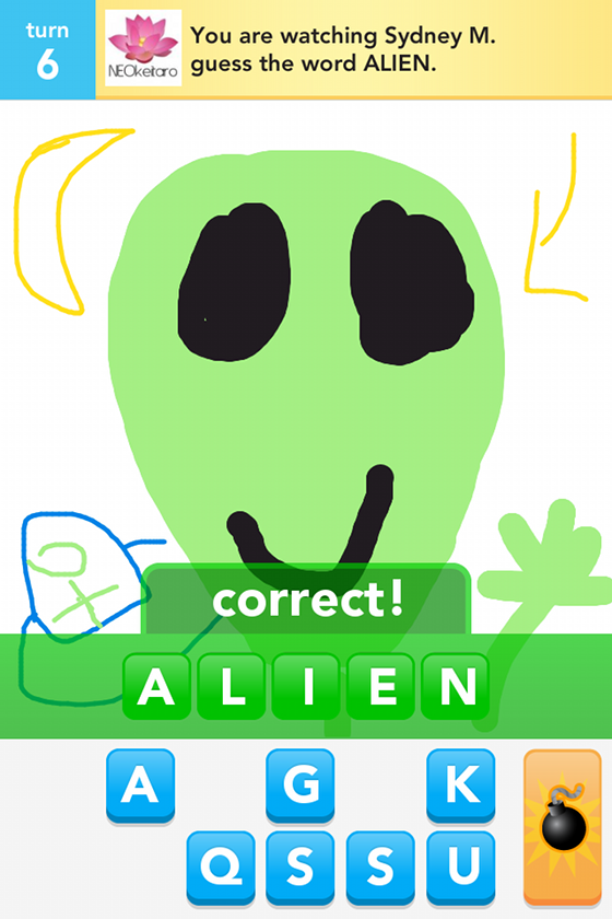 Draw something Alien