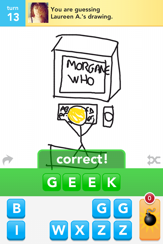 Draw something geek