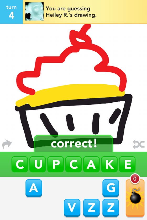 Draw something cupcake