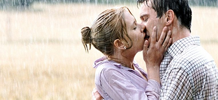 match point kiss under the rain Match point baiser sous la pluie