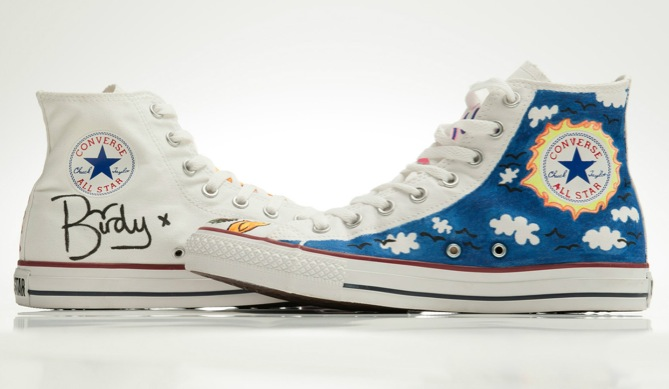 in their shoes birdy converse