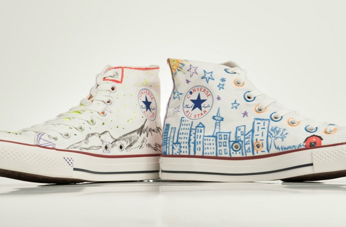 in their shoes bon iver converse