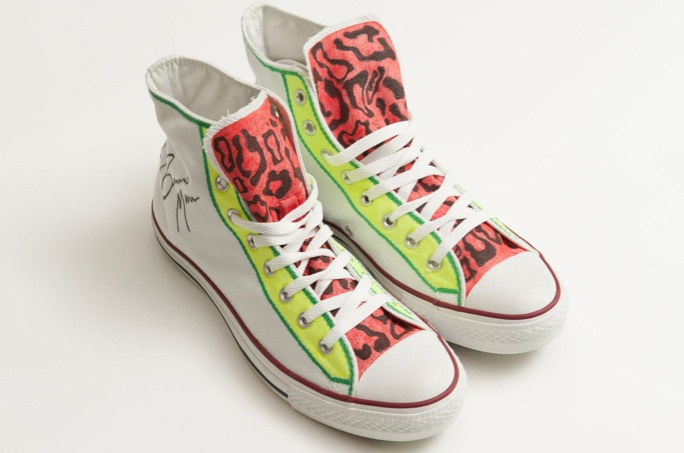 in their shoes bruno mars converse