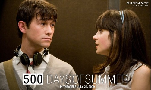 affiche 500 days of summer