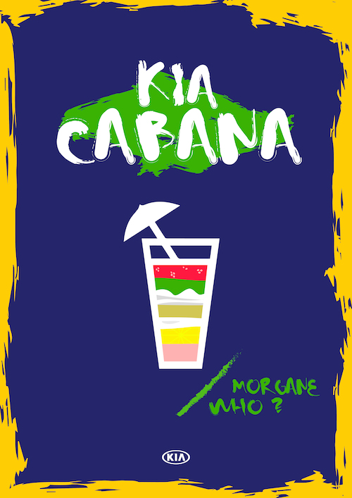 kia cabana cocktail
