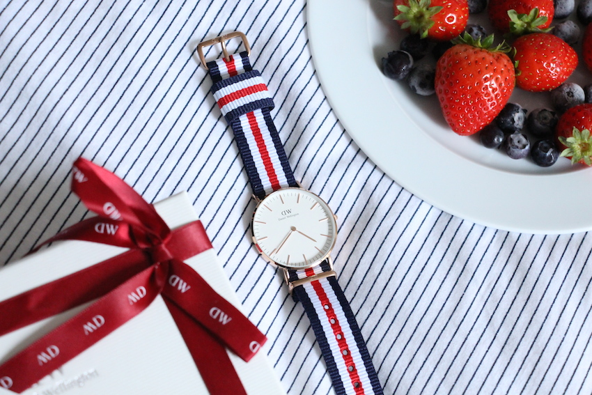 montre canterbury daniel wellington