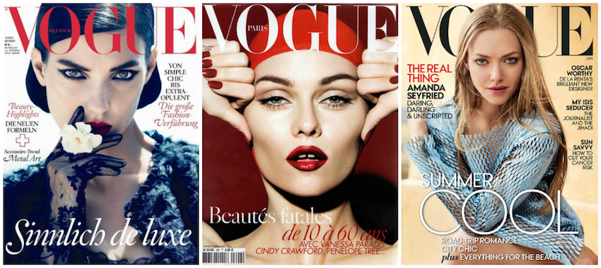 inspirations photos de vogue avec vanessa paradis et amanda seyfried