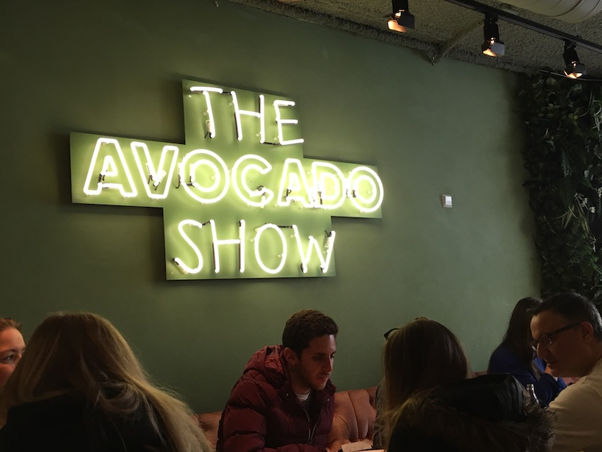 avocado show restaurant