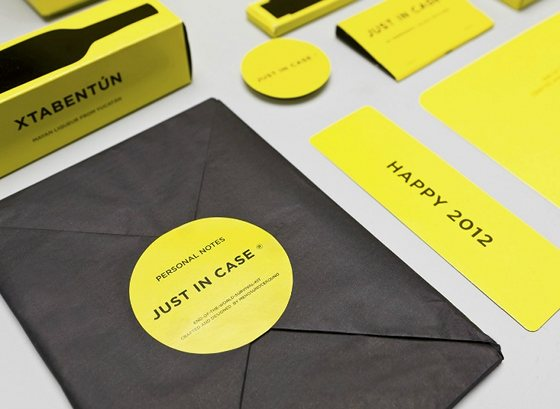 just in case notebook et stickers