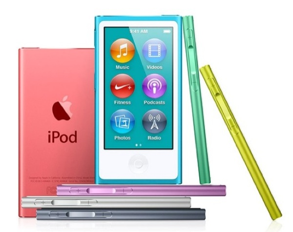 new ipod nano colors