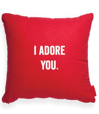 coussin i adore you