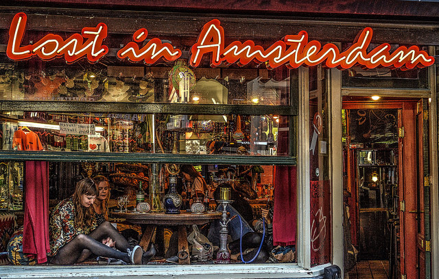 lost in amsterdam coffee shop